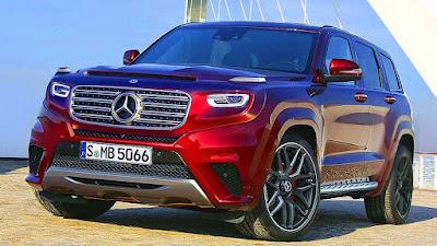 2020 Mercedes-Benz GLG concept