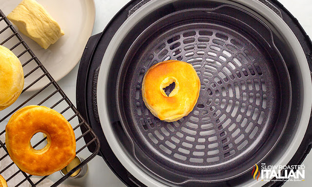 donut in the air fryer