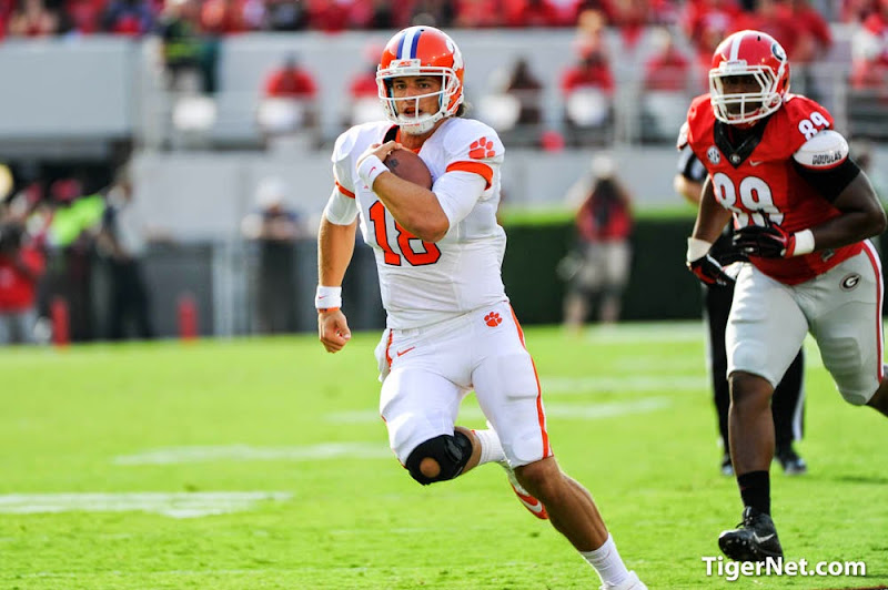 Clemson at Georgia Photos - 2014, Cole Stoudt, Football, Georgia