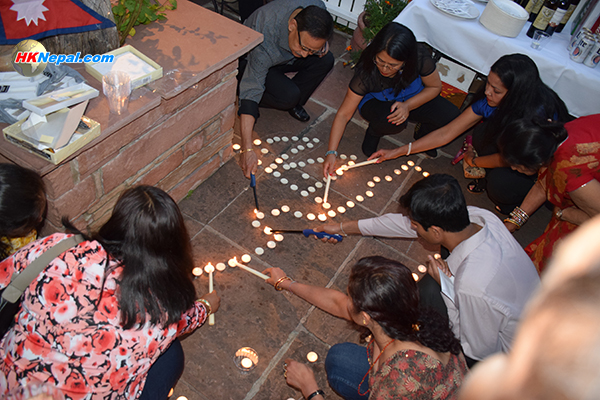 संविधानको स्वागतसंगै नेपाल पुनर्निर्माणको लागि सहयोग संकलन