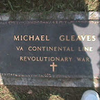 Michael Gleaves Actual Grave is in Davidson County, Tennessee