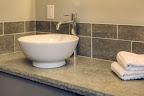 Mara Countertop and Tiled Backsplash