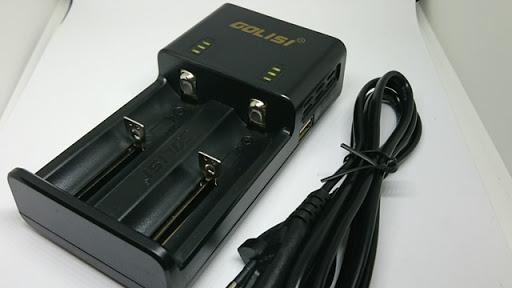 DSC 3267 thumb%255B2%255D - 【充電器】「GOLISI O2 インテリジェントチャージャー」充電器と「GOLISIバッテリー3000mAh」レビュー!2A急速充電可能なVAPEの頼もしい味方!!【バッテリー/チャージャー/電子タバコ/ツール】