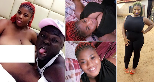Meet Chisom Ugwu The Nigerian Lady Who Left ARE Village In Anambra State To Act P00rn In Lagos (Photos)