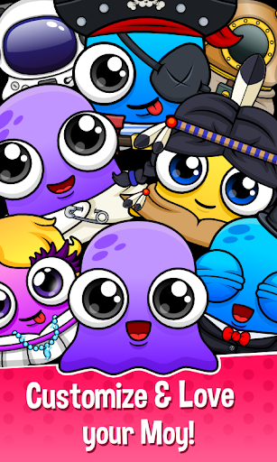 Moy 5 - Virtual Pet Game  screenshots 8