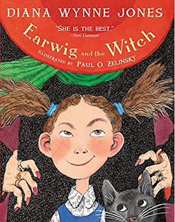 The book cover of Earwig and the Witch
