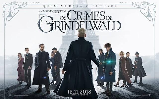 Animais Fantásticos: Os Crimes de Grindelwald na HBO