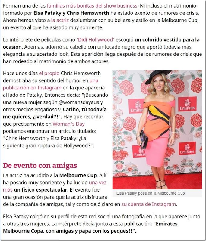 Elsa Lafuente Medianu, artísticamente conocida como Elsa Pataky (Madrid; 18 de julio de 1976), es una actriz, productora y modelo hispano-rumana.