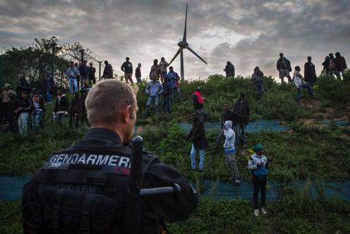 Calais migrants camps jungle 13