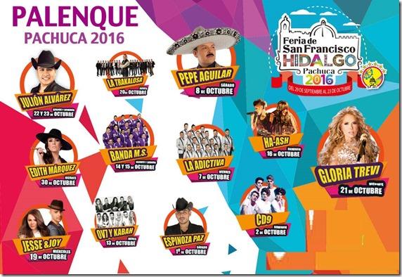 Palenque Feria de Pachuca 2016 compra tus boletos