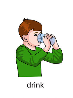 drink%2520 %2520flashcard Verb flashcard