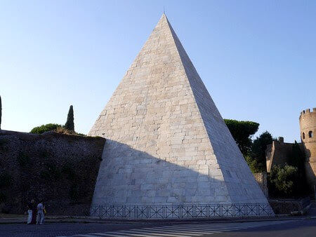 Pyramid of Cestius. From My 7 Favourite Ancient Sites in Rome