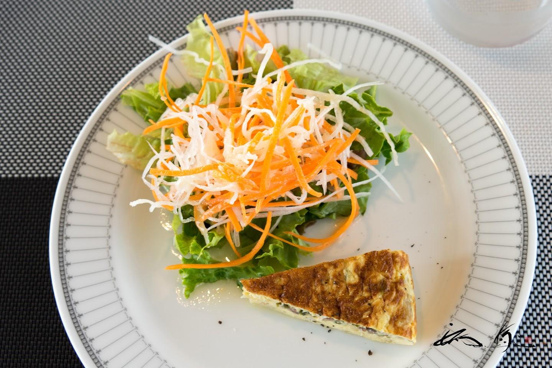 キィシュ&サラダ
