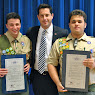 Croton-on-Hudson Eagle Scouts: Kristian Laureiro and Aaron Baltich-Schecter