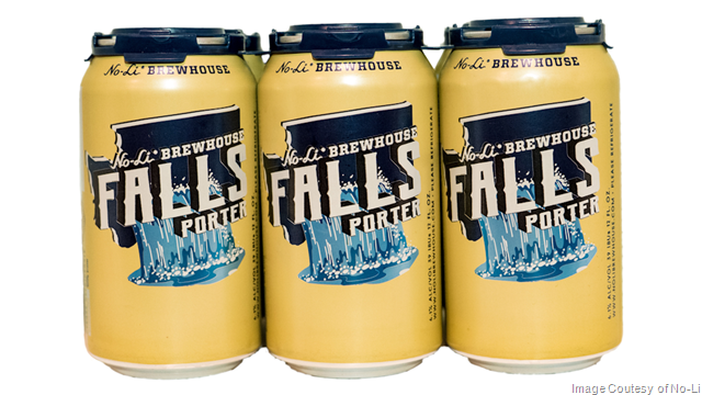 No-Li Brewhouse Releases Falls Porter 12-ounce Cans
