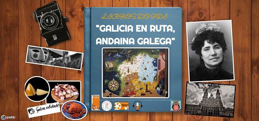 """LIBROS DO PDI """"GALICIA EN RUTA, ANDAINA GALEGA"""""""