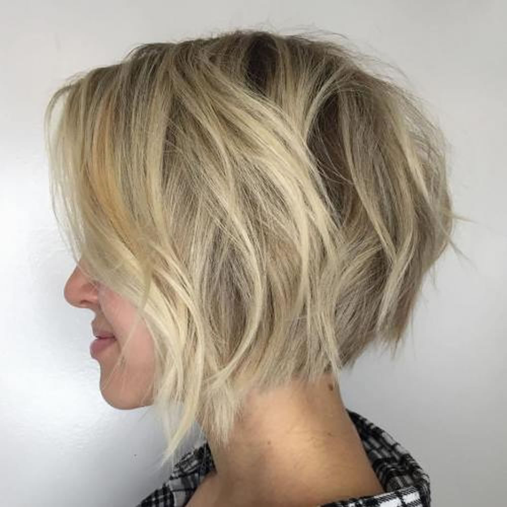 2019 short-long angled bob haircuts-Don't wait! 7