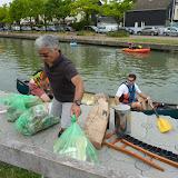 Nettoyage du canal de l'Ourcq - Sevran - 14/06/2015