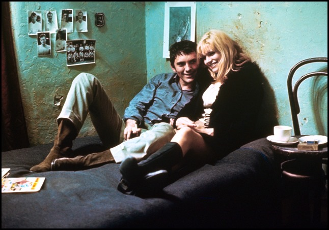 Terence Stamp and Carol White in Poor Cow (1967)