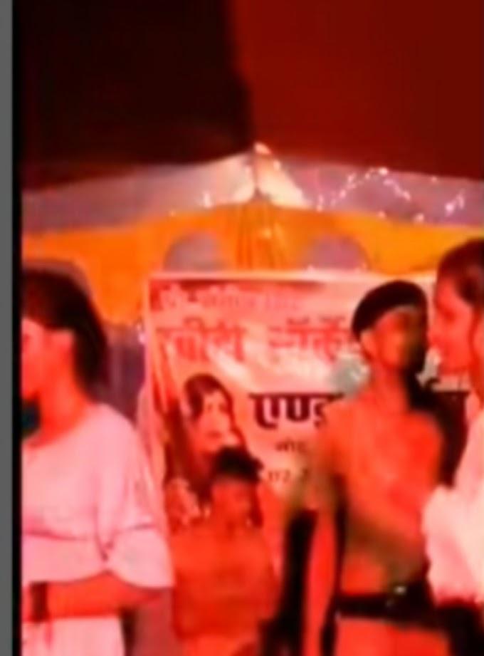 समस्तीपुर में बार बालाओं संग पुलिस की वर्दी में ठूमके लगाने लगा पुलिसकर्मी