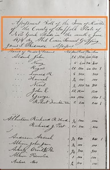 tax record 1