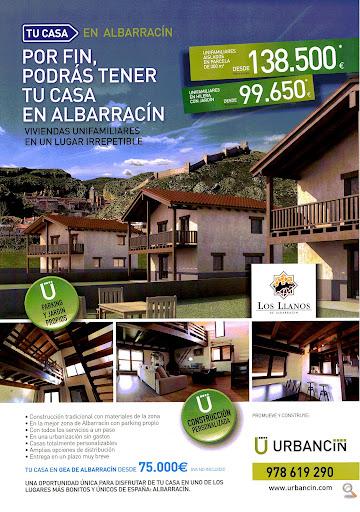 Casa en venta con 78 m2, 3 dormitorios  en Albarracín