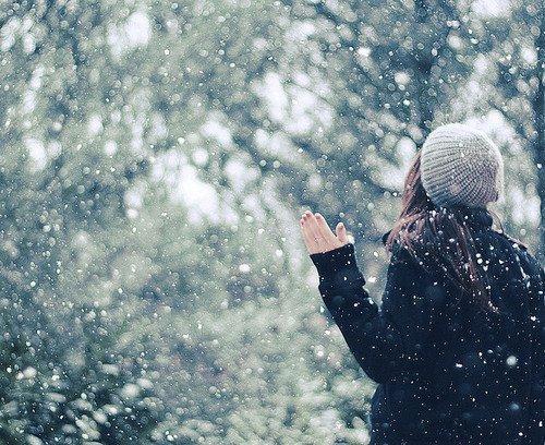 ảnh cô gái mùa đông
