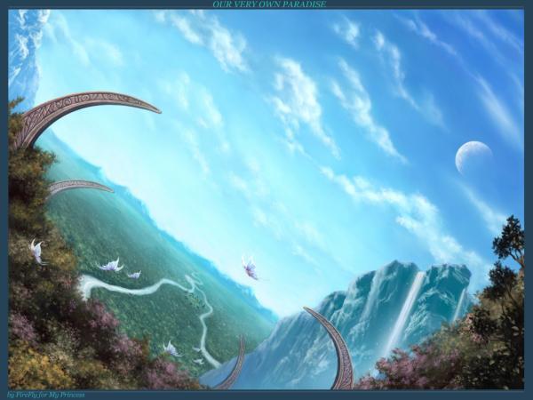 Land Of Blue Oceans, Magical Landscapes 2