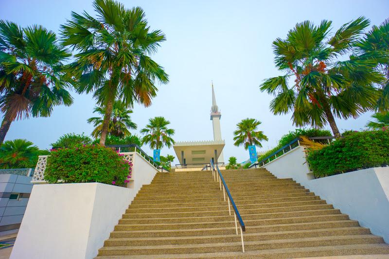 クアラルンプール 国立モスク1