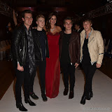 OIC - ENTSIMAGES.COM - Nina Naustdal and The Half Eight Band at the   Nina Naustdal - catwalk show  as Oslo born designer exhibits her aw 2015 couture - ss 2016 and childrens wear collections in collaboration with MTV Staying Alive Foundation in London 27th September 2015 Photo Mobis Photos/OIC 0203 174 1069