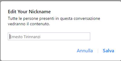 modificare-nickname-messenger