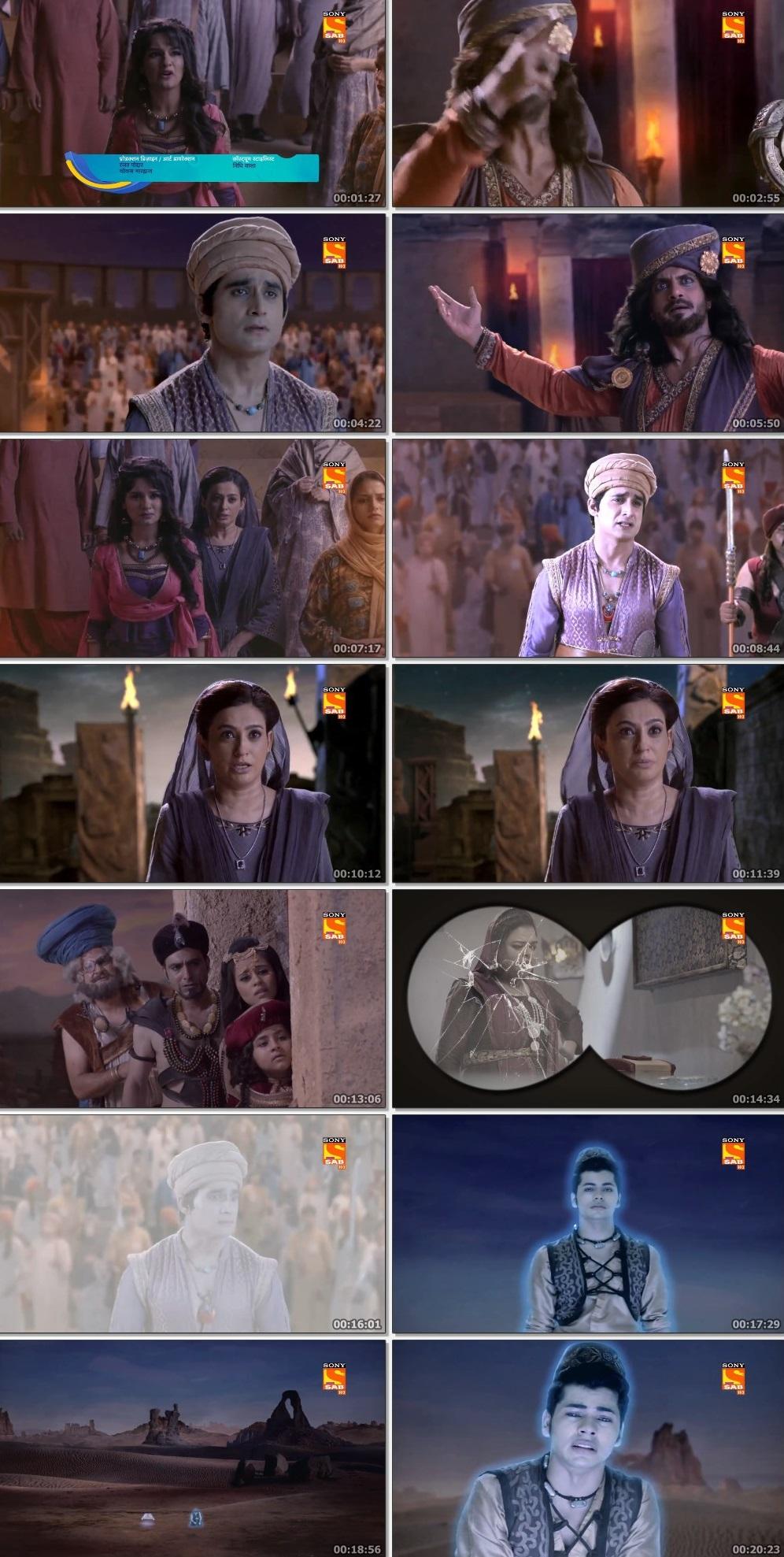 Screenshots Of Hindi Show Aladdin – Naam Toh Suna Hoga 2019 Episode 297 300MB 720P HD