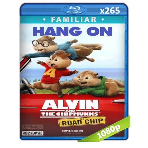 Alvin y las ardillas : Aventura sobre ruedas (2015) BRRip 1080p Latino x265