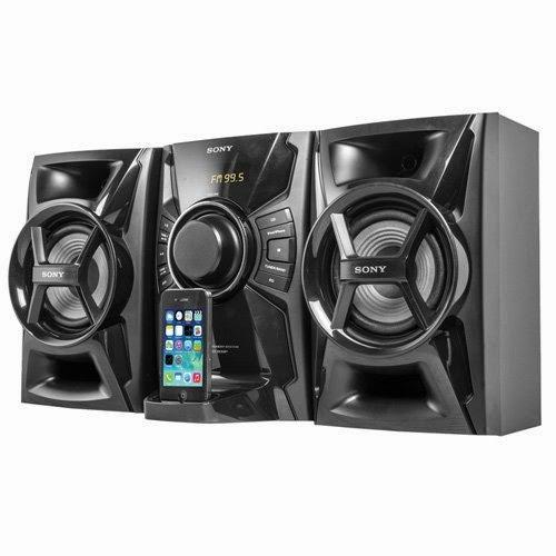MHCEC609IB Mini Hi-Fi System with iPod/iPhone Dock, Refurbished- Sony
