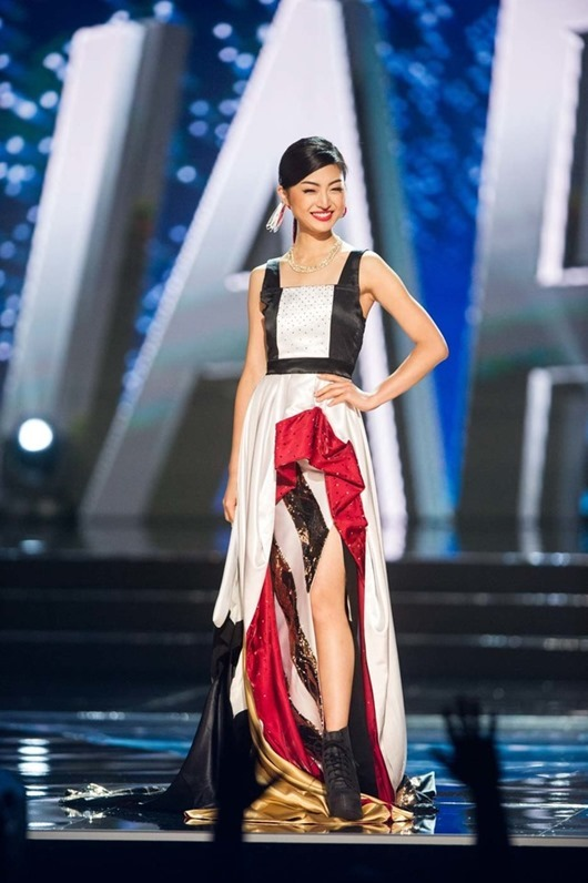 Sari Nakazawa, Miss Japan 2016 debuts her National Costume on stage at the Mall of Asia Arena on Thursday, January 26, 2017.  The contestants have been touring, filming, rehearsing and preparing to compete for the Miss Universe crown in the Philippines.  Tune in to the FOX telecast at 7:00 PM ET live/PT tape-delayed on Sunday, January 29, live from the Philippines to see who will become Miss Universe. HO/The Miss Universe Organization