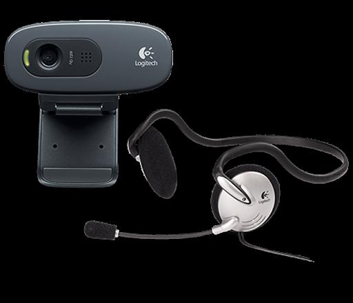 Harga Logitech C270H HD Webcam + Stereo Headset Juni - Juli 2016