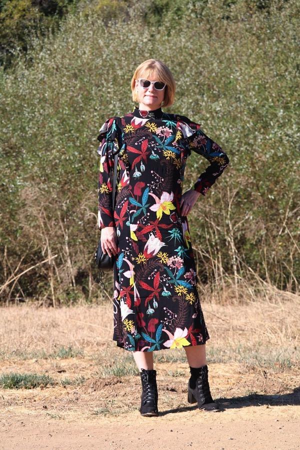 H M Floral Dress 4
