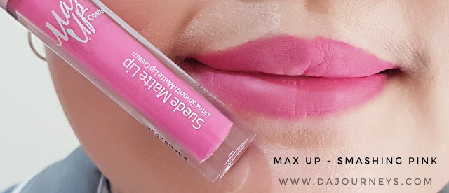 Review Smashing Pink by Max Up Cosmetics