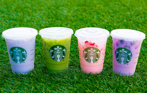 Starbucks Rainbow Drinks Kirbie S Cravings