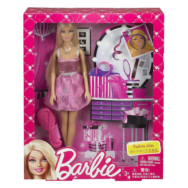Barbie làm tóc Fashion Hair Doll