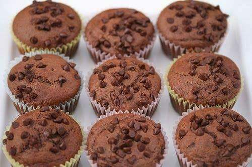 RESEPI CHOCOLATE CHIPS MUFFIN