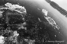 Wim Hof swimming under ice.