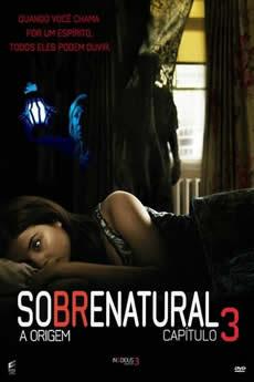 Capa Sobrenatural: A Origem (2015) Dublado Torrent