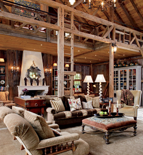 Interior Barn Lights: Unexpected Interiors: Barn To House Conversion
