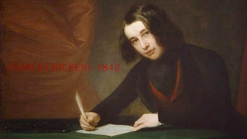 Charles  Dickens, admirado por escritores mundiales