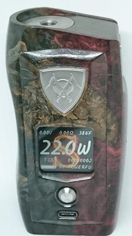 DSC 3115 thumb%255B4%255D - 【MOD】VICIOUS ANT 「KNIGHT STABWOOD #084(SX550J)」レビュー。YiHiハイエンドチップを搭載したスタビMOD!カラー液晶&Bluetooth【高級/スタビライズドウッド/電子タバコ/VAPE/フィリピン製】