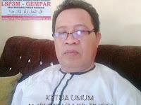 LSP3M GEMPAR INDONESIA SULAWESI SELATAN Resmi Laporkan Dugaan Penyalahgunaan ADD Desa Lonjoboko Dipolres Gowa.