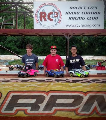 4WD SCT Mod - 1st: Tyler Schrimsher, 2nd: John Reid, 3rd: Jeff Nguyen