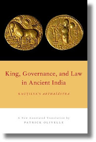 [Olivelle: King, Governance, and Law in Ancient India]