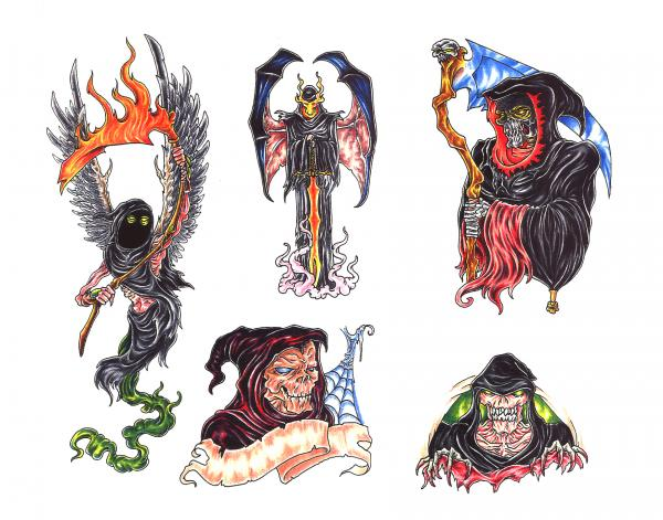 Mysterious Tattoo Design 7, Fantasy Tattoo Designs